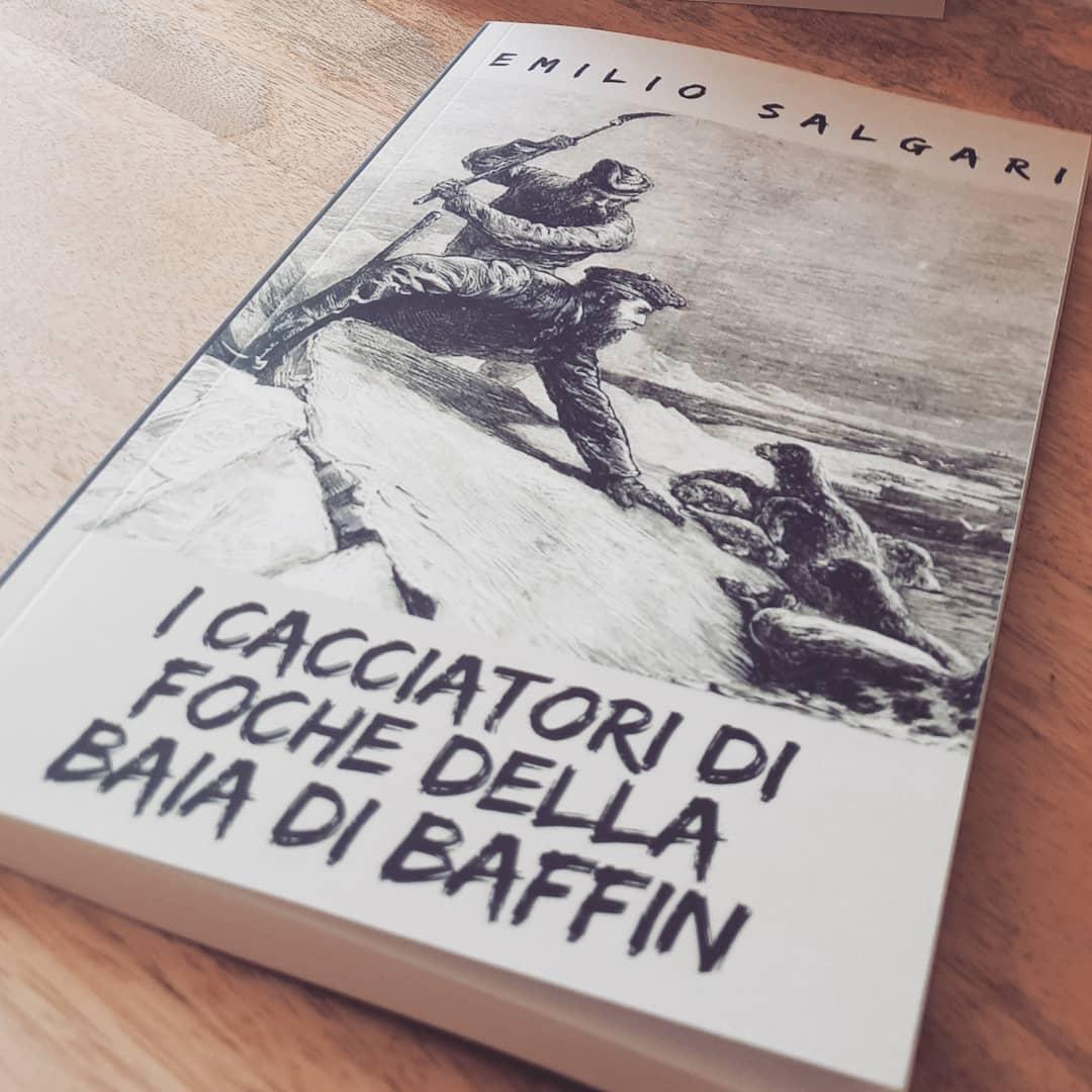 emilio salgari romanzo i cacciatori di foche della baia di baffin
